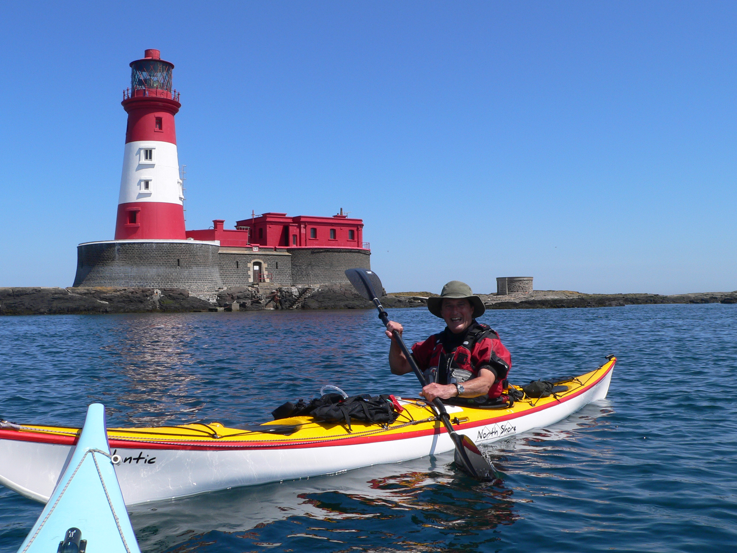 Sea kayak coaching